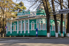 Almaty - Old merchants house Stock Image
