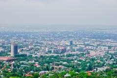 Almaty, paesaggio urbano, panorama Fotografie Stock Libere da Diritti