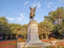 Almaty - parc d'Amangeldy Imanov photo libre de droits