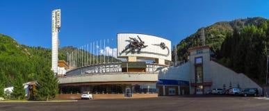 Almaty - pista di pattinaggio Medeo fotografia stock