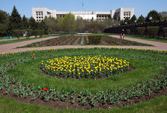 Almaty - Presidents Park In The Town Stock Photos