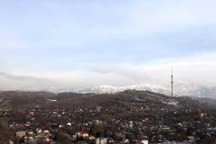 Almaty in primavera Immagini Stock
