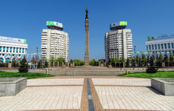 Almaty - The Republic Square Royalty Free Stock Photography