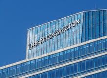 Almaty - The Ritz Carlton Tower - closeup Stock Photos