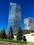 Almaty - The Ritz Carlton Tower Stock Images