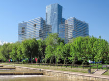 Almaty - The Ritz Carlton Tower Royalty Free Stock Photos