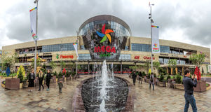 Almaty - Shopping Center Mega Park Royalty Free Stock Photography