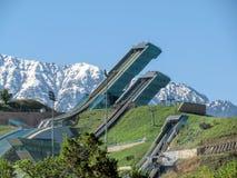 Almaty - Springboard complex Sunkar Royalty Free Stock Image