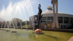 Almaty stad stock video