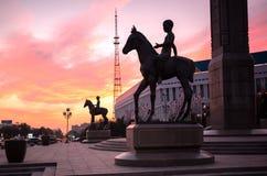 Almaty stad arkivfoto