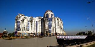 Almaty stad royaltyfri fotografi