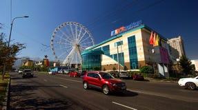 Almaty stad Fotografering för Bildbyråer
