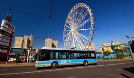 Almaty stad Royaltyfri Foto