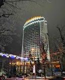 Almaty stad, Kasakhstan fotografering för bildbyråer