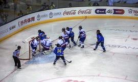 Almaty-Stadt Stockfoto