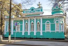 Almaty - Stary handlarza dom Fotografia Stock