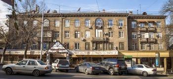 Almaty - Supermarkt Stolichniy Lizenzfreies Stockfoto