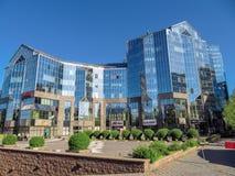 Almaty - tau di Nurly del centro di affari Fotografie Stock Libere da Diritti