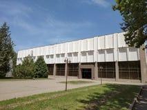Almaty - teatro russo accademico di dramma dello stato Immagini Stock