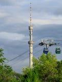 Almaty - telecommunication tower Stock Photos