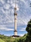 Almaty - telekommunikationtorn Fotografering för Bildbyråer