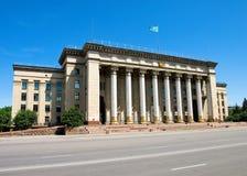 Almaty - vecchia Camera di governo Fotografie Stock