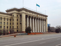 Almaty - vecchia Camera di governo Immagini Stock Libere da Diritti