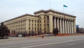 Almaty - vecchia Camera di governo Immagine Stock