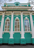 Almaty - vecchia casa dei commercianti Immagine Stock Libera da Diritti