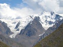 Almaty, vista del picco di Furmanov Immagine Stock