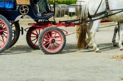 ALMAYATE HISZPANIA, KWIECIEŃ, - 22, 2018 Tradycyjny Andaluzyjski konkurs Fotografia Royalty Free