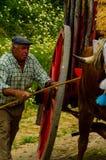 ALMAYATE HISZPANIA, KWIECIEŃ, - 21, 2018 Tradycyjny Andaluzyjski konkurs Obraz Stock