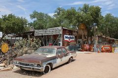 Almecina en Route 66 Fotografía de archivo