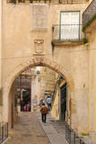 Almedina Gate. Coimbra . Portugal Stock Photography