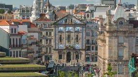 Almeida阁楼正方形的看法与圣地的 股票视频