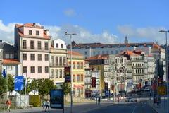 Almeida Garrett Plaza, Oporto, Portogallo Immagini Stock