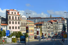 Almeida Garrett Plaza, Porto, Portugal Stock Images