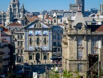 Almeida Garrett Square, Oporto Fotografie Stock