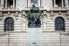Almeida Garrett statua Obrazy Stock