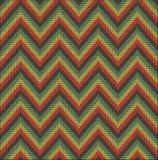 Almenaje del suéter del modelo que hace punto Imágenes de archivo libres de regalías