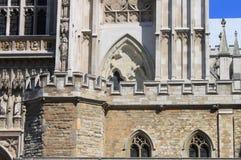 Almenajes de la abadía de Westminster Fotos de archivo libres de regalías