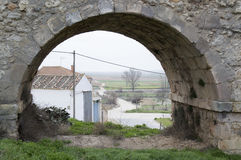 Almenar de Soria. In Soria, Castilla leon, Spain Royalty Free Stock Photo