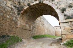 Almenar de Soria Castle Fotografie Stock