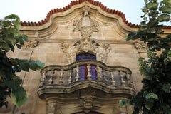 Almendra †'Barokowa rezydencja ziemska zdjęcia stock