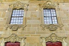 Almendra †'Barokowa rezydencja ziemska obraz stock