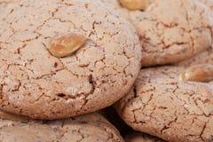Almendrados, biscotto tradizionale della mandorla dall'Algarve nel Portogallo Immagine Stock