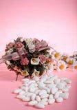 Almendras del azúcar Imágenes de archivo libres de regalías