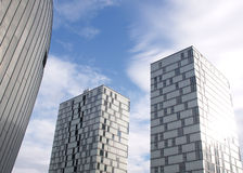 almere διαμερίσματα σύγχρονα Στοκ Φωτογραφίες