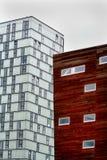 Almere, cidade nova Imagem de Stock Royalty Free