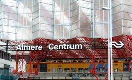 Almere, nouvelle ville Images stock